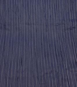 Reduziert, Designer Leinen - Nadelstreifen, blau-weiß, 30 cm