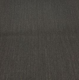 Reduziert, Kostümstoff, Anzugstoff, feine Nadelstreifen, anthrazit-braun-beige, 50 cm
