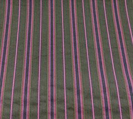 Reduziert, Webstreifen, elastisch,  khaki-pink, 50 cm