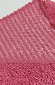 Reststück, Designer Netzleinen,  pink
