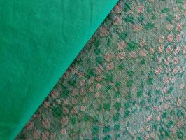 Hochwertiger Leinen Jaguard in natur - grün