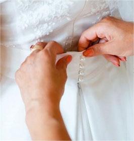 Schlingenband, dicht gesetzte elastische Schlinge, ivory, 14 mm, 1 Meter