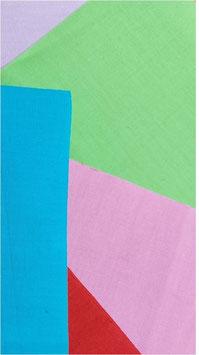 Baumwoll-Flicken zum Aufbügeln, dicht gewebt, mehrere Farben, 17 x 22,5 cm