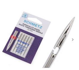 Öhrschlitznadel - Nähmaschinen Nadel, Schmetz, 130/705 H, Universal, Stärke 80, 5-er Pack