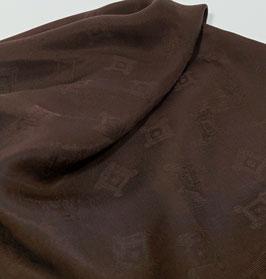 Reduziert, Cupro, Jacguard, marone, 50 cm