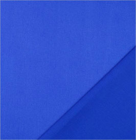 Reduziert, Baumwollgabardine, robust, königsblau, 1 Meter