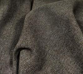Reduziert, Polyester mit Viskose, braun meliert, 50 cm