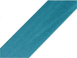 Schrägband, Baumwolle, mehrere Farben, 18 mm, 3 Meter