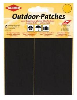 Outdoor Patches, selbstklebend, für Schnellreparatur, Farbe schwarz