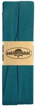 Oaki Doki, Jersey Schrägband, Farbe 548, sand, 20 mm, Coupon 3 m