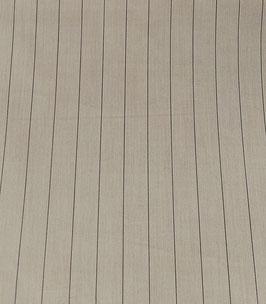 Reduziert, Baumwollpopeline, Nadelstreifen, sand, 50 cm