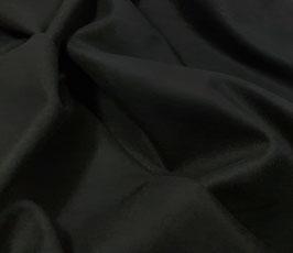 Reduziert, Flanell, elastisch,  schwarz, 50 cm