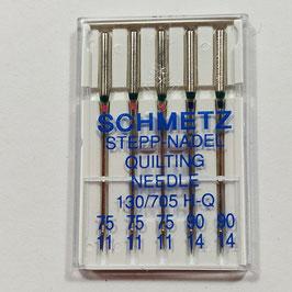 Angebot - Nähmaschinen Quiltingnadel, Schmetz, 130/705 H, sortiert, 5-er Pack