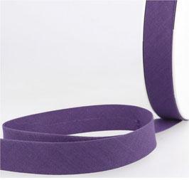 Schrägband, Baumwolle, mehrere Farben, 20 mm, 3 Meter