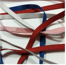 BH - Trägerband, Satin, weiche Unterseite, 12 mm, mehrere Farben, 1 Meter