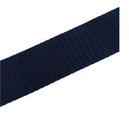 Hochwertiges Gurtband, starker Zug, marine, 40 mm breit, 1 Meter