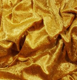 Reduziert, Pannesamt, gold, 1 Meter