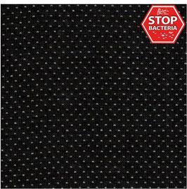 Funktioneller Feinstrick mit Silberionen und Baumwolle, schwarz-hellgrau