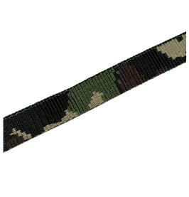 Gurtband mit Tarnmotiv, starker Zug, camouflage, 20 mm breit, 3 Meter