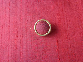 Stoffknopf, gold, 24 mm