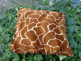 Kissenhülle Giraffe, Gr. 40 x 40 cm,  50cm x 50cm