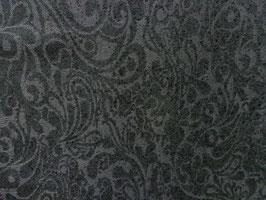 Woll-Jacguard, schwarz