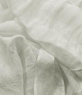 Leinen, transparent, naturweiß, fertiges Tuch 48 x 160 cm