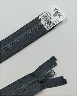 YKK Kunststoff Reißverschluss, teilbar, 1 Stück, ab Länge 60 cm, grau 182
