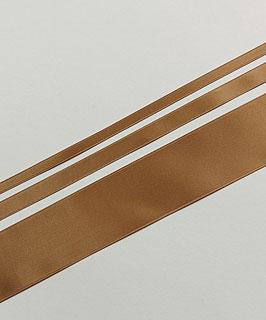 Satinband Luxe, 100% Polyester, mehrere Breiten, hellbraun 29, 1 Meter