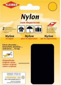 Nylon selbstklebend für Schnellreparatur, Farbe schwarz