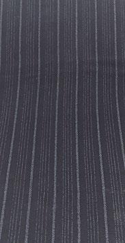 Reduziert, Blusen Stoff, Viskosekrepp, Nadelstreifen, schwarz-grau50 cm