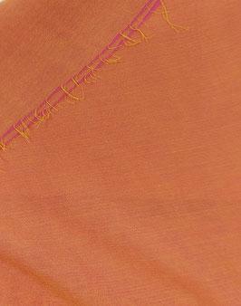Reduziert, Blusen Stoff, Viskosekrepp, Changeant, goldgelb-pink, 50 cm