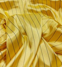 Reduziert, Blusen Satin, elastisch, gelb, 50 cm