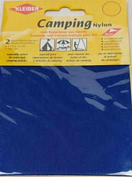 Camping Nylon selbstklebend, mit Struktur, stabil, Farbe atlantic