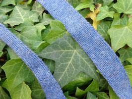 Einfassband - Wolltresse, jeans blau
