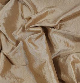 Reduziert, Taft - crash, camel, 50 cm