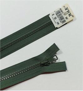 YKK Kunststoff Reißverschluss, teilbar, 1 Stück, ab Länge 25 cm, khaki 567