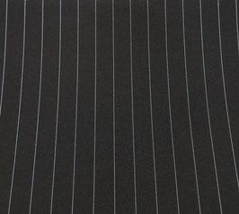 Reduziert, Nadelstreifen, schwarz, 50 cm