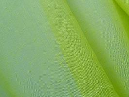 Leinen, transparent, Farbe neongrün