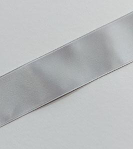 Satinband Luxe, 100% Polyester, 40 mm, silbergrau 30, 1 Meter