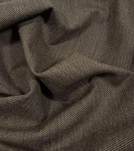 Reduziert, Wollstoff, Diagonal, braun-beige, 30 cm