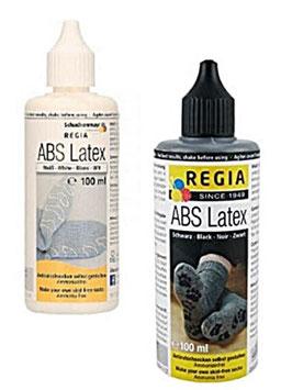 Mit ABS Latexmilch warme Wintersocken mit rutschfester Sohle gestalten, Farbe schwarz oder weiß