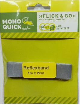 Reflexband selbstklebend, 20 mm breit, 1 Meter