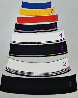 Restposten - Angebot, Polokragen, fertg gestrickt, mehrere Farben, Muster und Größen