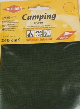 Camping Nylon selbstklebend, mit Struktur, stabil, Farbe khaki