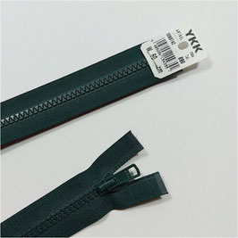 YKK Kunststoff Reißverschluss, teilbar, 1 Stück, ab Länge 45 cm, flaschengrün 890