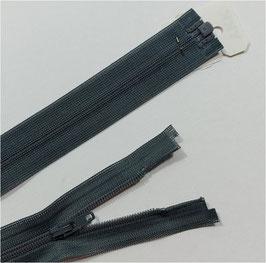 YKK Kunststoff Reißverschluss, fein, teilbar, 1 Stück, ab Länge 35 cm, grau 578
