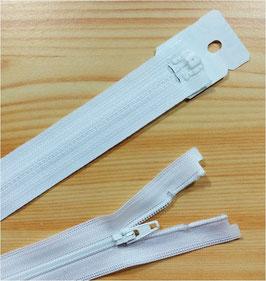 YKK Kunststoff Reißverschluss, fein, teilbar, 1 Stück, ab Länge 35 cm, weiß 501