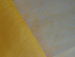 Leinen, transparent, gelb