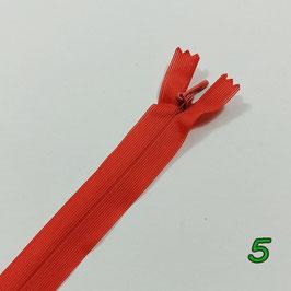 Nahtverdeckte Reißverschluss, viele Farben, Länge 60 cm, 1 Stück